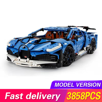 MOC 20086 Techinic Series The Blue Speed Sport Racing Car Model Kit Assembling Building Blocks Kids Toys For Children DIY Bricks lepin 05072 star plan series the limited edition malevolence warship set building blocks bricks diy 9515 toys model for children