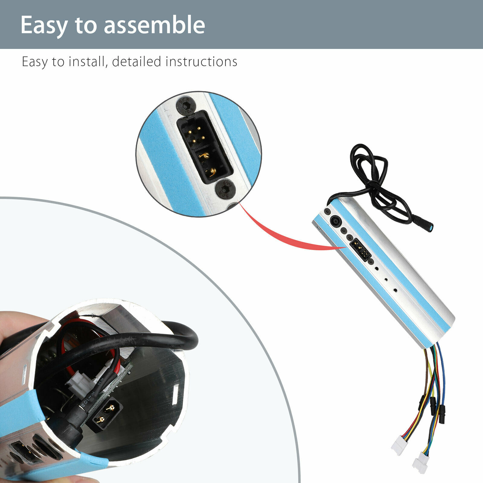 Image 2 - Replacement For Ninebot Segway ES1/ES2/ES3/ES4 Scooter Activated Bluetooth Dashboard Control Board-in Scooter Parts & Accessories from Sports & Entertainment