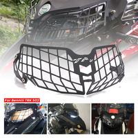 Motorcycle Headlight Grille Light Cover Protective Guard For Benelli TRK502 TRK 502 Moto Parts