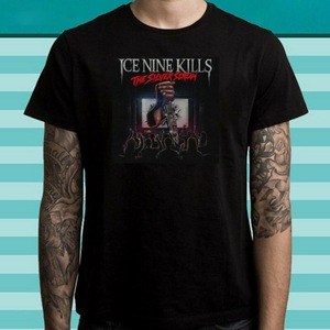 Ice Nine Kills The Silver Scream Metal Band Men's Black Tops Tee T Shirt Size S To 3XL Harajuku Hip Hop T-Shirt