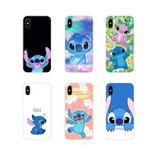 cute lovely Stitch Ohana For Samsung Galaxy J1 J2 J3 J4 J5 J6 J7 J8 Plus 2018 Prime 2015 2016 2017 Soft Transparent Shell Covers(China)