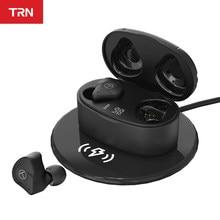 Trn T300 Nieuwe Tws 2BA + 1DD 5.2 Bluetooth Oortelefoon True Draadloze Dubbele Oortelefoon In-Ear Hifi Koptelefoon QCC3046 chip/Aac