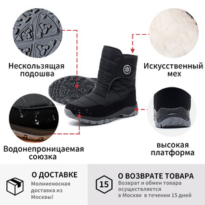 Image 5 - GOGC Womens Boots  Womens Winter Boots shoes boots Comfortable waterproof boots for Women warm boots Winter Shoes G9915