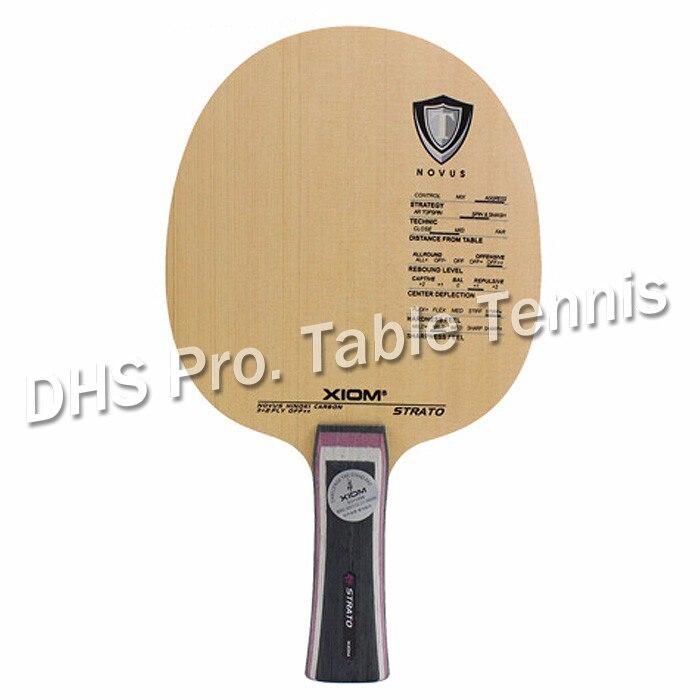 Оригинальный Xiom STRATO ракетка для настольного тенниса Спортивная крытая Спортивная ракетка xiom ракетка для настольного тенниса кипарисовое л