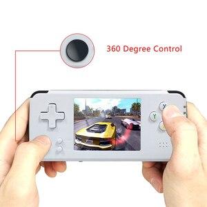 Image 2 - GAMEPZZY RS97 רטרו משחק קונסולת opending מערכת 64bit 3.0 אינץ נייד כף יד משחק נגן 360 תואר בקר