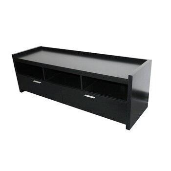 TV stand meubles tv мебель monitor stand tv тумба под телевизор tv cabinet Nordic modern 2 drawers true black oak 127X46X51 cm тумба под телевизор tv 2