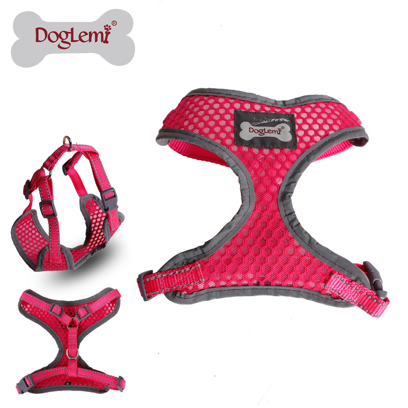 Dole M Manufacturers Direct Selling Second Generation Feature Reflective Breathable Mesh Dog Breast Collar Set Excluded Traction