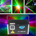 Free Shipping ILDA+DMX512+SD Card Laser 5000mW Analog RGB Sound/Music Audio actived Stage Disco Lighting