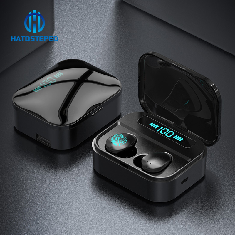 Earphones Mini Power-Bank Earbuds Bluetooth Touch Tws X7 Headfrees Ipx7 Waterproof 3600mah title=
