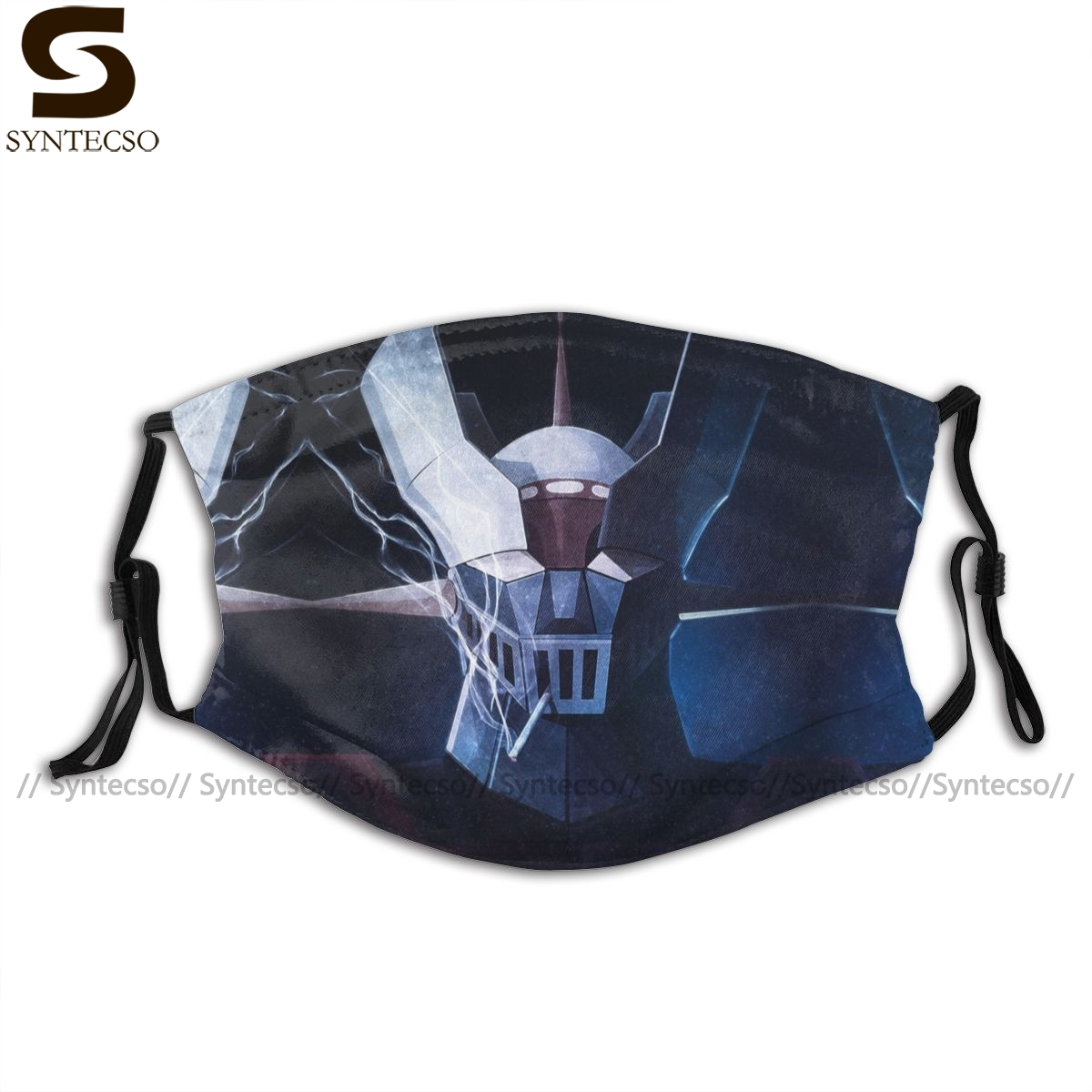 Mazinger Mouth Face Mask Mazinger Smoke Facial Mask Funny Fashion With 2 Filters For Adult