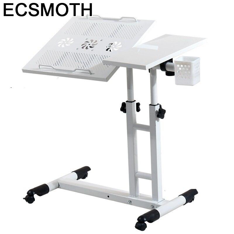 Tray Ufficio Schreibtisch Standing Mesa Para Notebook Scrivania Lap Bed Adjustable Laptop Stand Desk Study Computer Table