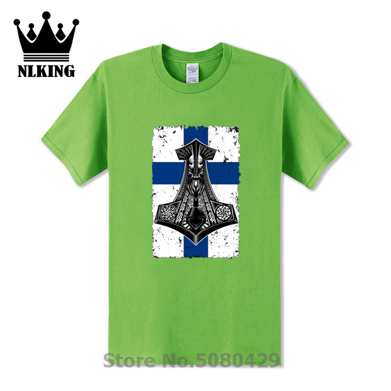 <font><b>Finland</b></font> Viking <font><b>Flag</b></font> with Thor's Hammer Viking ghost t <font><b>shirt</b></font> Summer 2020 T-<font><b>Shirt</b></font> Sleeve Funny Tees Tops La Casa De Papel The Dali image