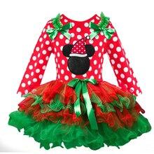 Baby Girl New Year Christmas Dot Dress Tutu
