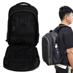 Image 2 - Barber Accessories Hairdressing Tool Large Capacity Storage Backpack Barber Styling Tools Outdoor Travel Shoulders Bag