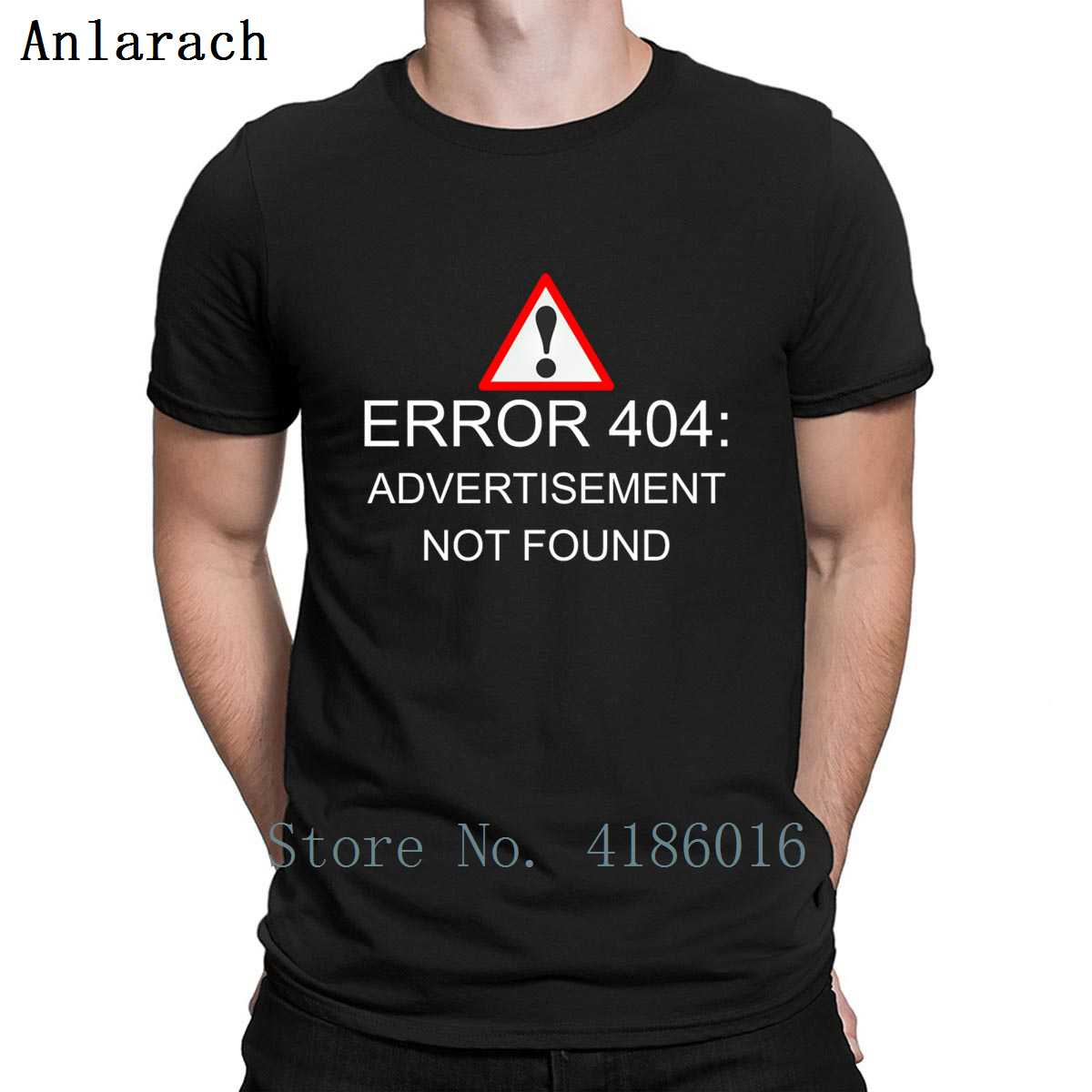 <font><b>404</b></font> <font><b>Error</b></font> Advertisement T <font><b>Shirt</b></font> Sunlight Summer Custom Tee <font><b>Shirt</b></font> Cool Round Collar Outfit Building <font><b>Shirt</b></font> image