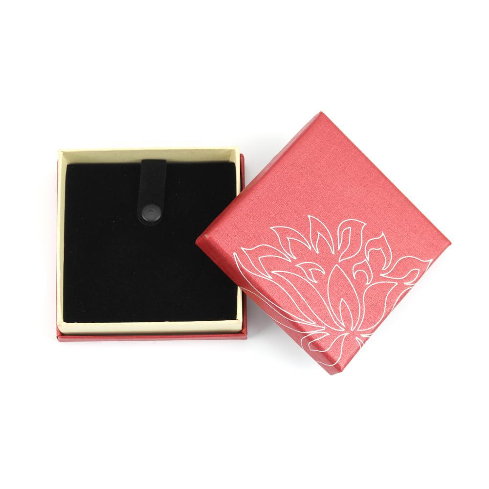 DoreenBeads бумажная красная коробка для ювелирных изделий, ожерелье, серьги, кольцо, набор коробок для подарочной упаковки и дисплея, оптовая продажа, 1 шт.|Упаковка и стойки для украшений|   | АлиЭкспресс