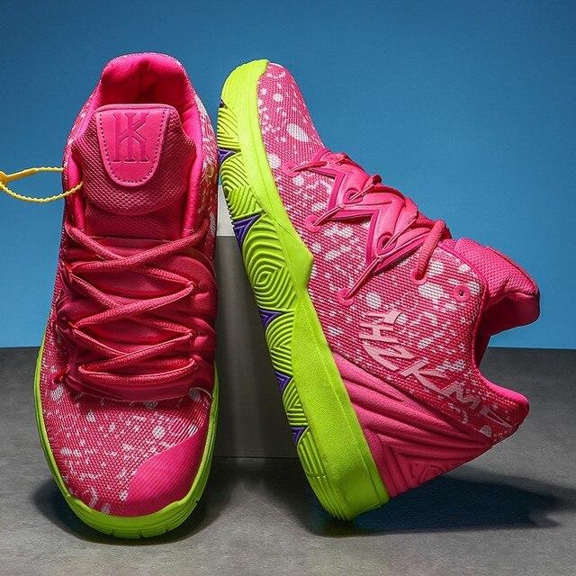 Zapatillas de deporte de alta calidad para hombre y mujer, Zapatos de baloncesto transpirables de malla, deportivas de superestrella para parejas 2