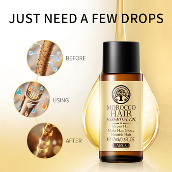 17ml Morocco Argan Hair Care Oil Soft For Hair Scalp Care Repair Prevent Hair Thinning Loss Products For Women Hair Care TSLM1 2