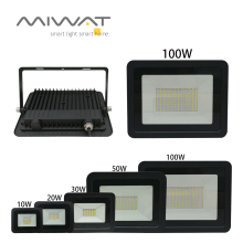 Led-Flood-Light IP68 Street White Cool/warm Ultra-Thin 20W 10W Square 50W 30W for New