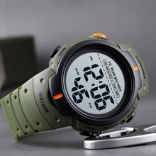 SKMEI Outdoor Sport Watch 100M Waterproof Digital Watch Men Fashion Led Light Stopwatch Wrist Watch Men's Clock Reloj Hombre