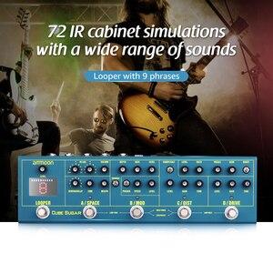 Image 5 - ammoon CUBE SUGAR guitar pedal Combined guitar Effects Pedal 5 Analog Effects guitar accessories guitar pedal guitar parts
