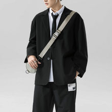 2020 мужской повседневный высококачественный черный костюм куртки