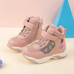 MMNUN children's boots autumn boots for boys boots for girls bkids shoes autumn with fur children shoes #27-32 ML9974