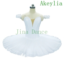 Biały półmisek tutu bez dekoracji półmisek Tutu czarny dorosły profesjonalny zwykły różowy naleśnik Tutu profesjonalne stroje baletowe