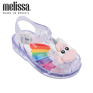 Sandals Jelly-Shoes Unicorn Mini Melissa Non-Slip Girl Kids NEW Boy Bow Possession