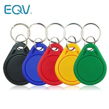 10 pçs/lote 13.56MHz RFID IC Chave Tags Os Keyfobs Token NFC TAG Keychain Para Arduino