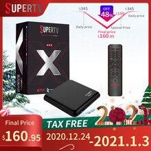 Brasil Supertv Black X Box HD 4K 2G 16G Android ISDB-T TV Box Supports Barrage Brasil Super Tv Black X Box 2020 Receiver Supertv