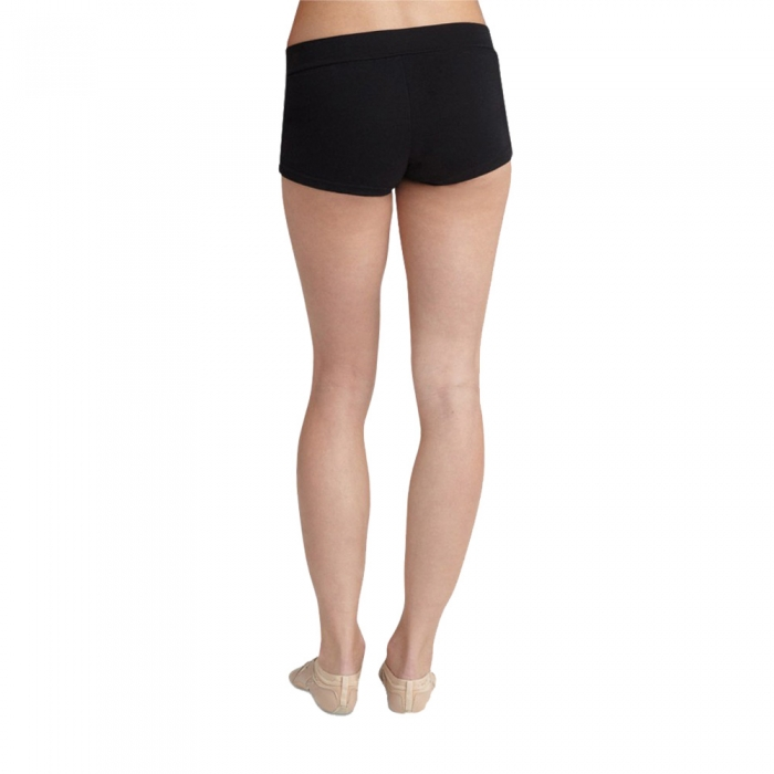 Girls Team Basic Dancers Bottoms Style Shorts With V-waist Dancewear Lycra Spandex Dance Shorts