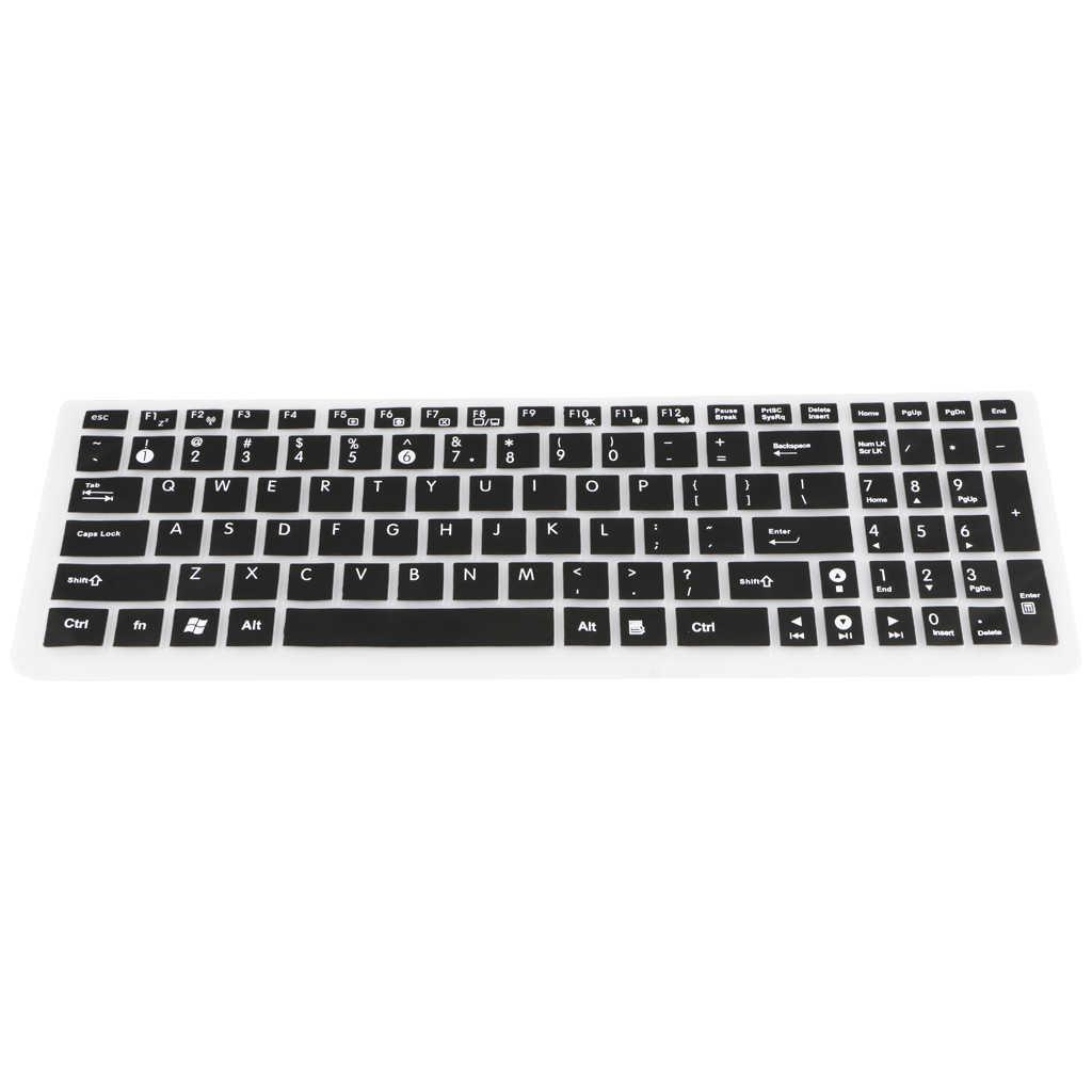 Cubierta de teclado de silicona a prueba de polvo para ordenador portátil Protector de piel para ordenador portátil ASUS ordenador portátil PC película protectora de teclado impermeable