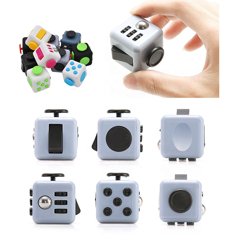 Decompression Dice Decompression Ring Characteristic Office Toy Pressure Resistance Decompression Unlimited Magics Square