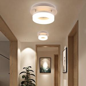 Image 3 - Artpad Modern Flush Mount Ceiling Light Hallway Porch Balcony Lamp Interior Lighting Surface Mounted Square LED Ceiling Lights