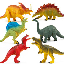 Action&Toy Figures Model Brachiosaurus Plesiosaur Tyrannosaurus Dragon Dinosaur Collection Animal Collection Model Toys large size classic dinosaur toy triceratops soft animal model collection for boys action