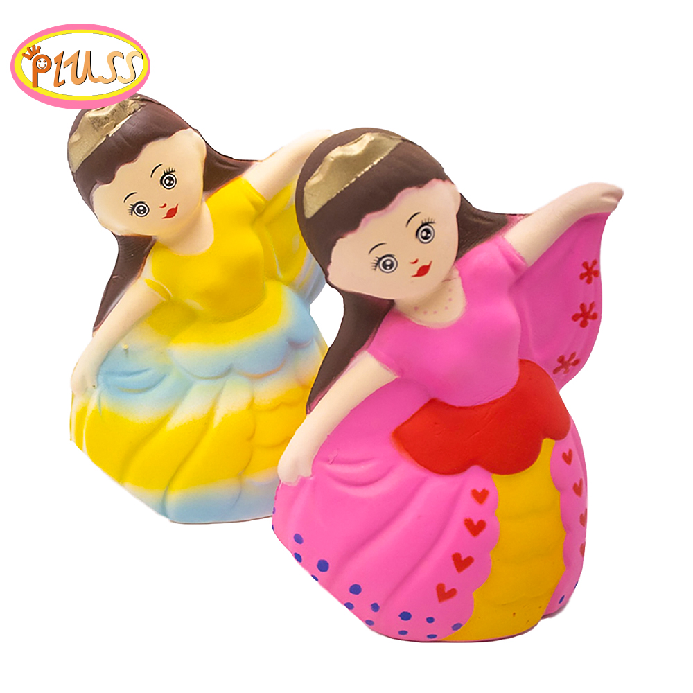 Squishy Doll Toys Antistress Squish Jumbo Squishy Slow Rising Novelty Gag Toy Fun Stress Relie Kids Squishi Princess Squishies