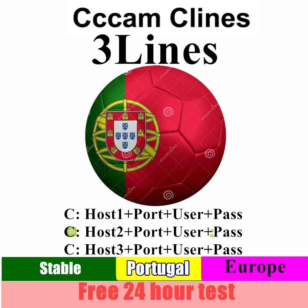 Spain Cccam Espa A Server Hd Stable Europe Clines 3 Line Portugal/Poland/Italia Ccam 1 Year 2 Year Tv Cinebox Satellite Receptor