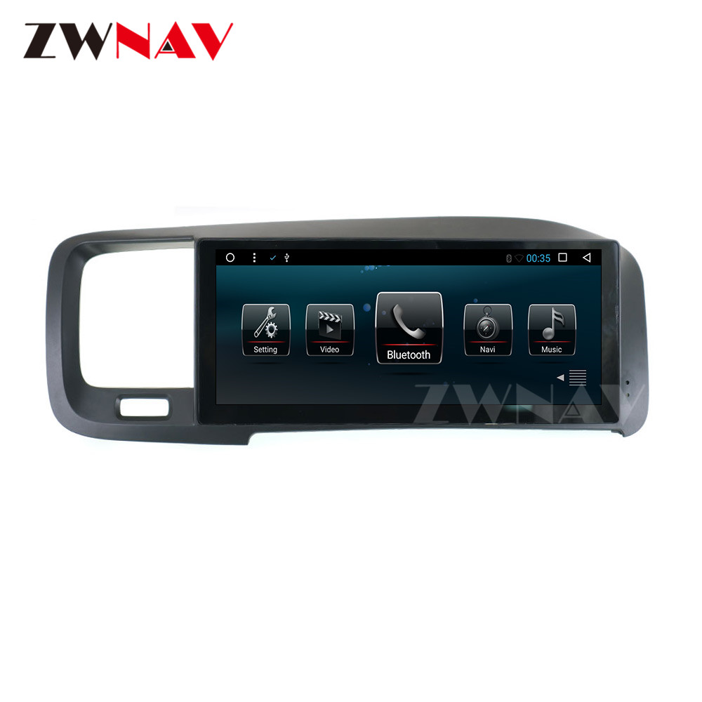 "8.8"" Android 6.0 System 2+32G IPS Screen Radio Car Multimedia No DVD Player Stereo GPS Navigation For Volvo S60 V60 2011-2014 image"