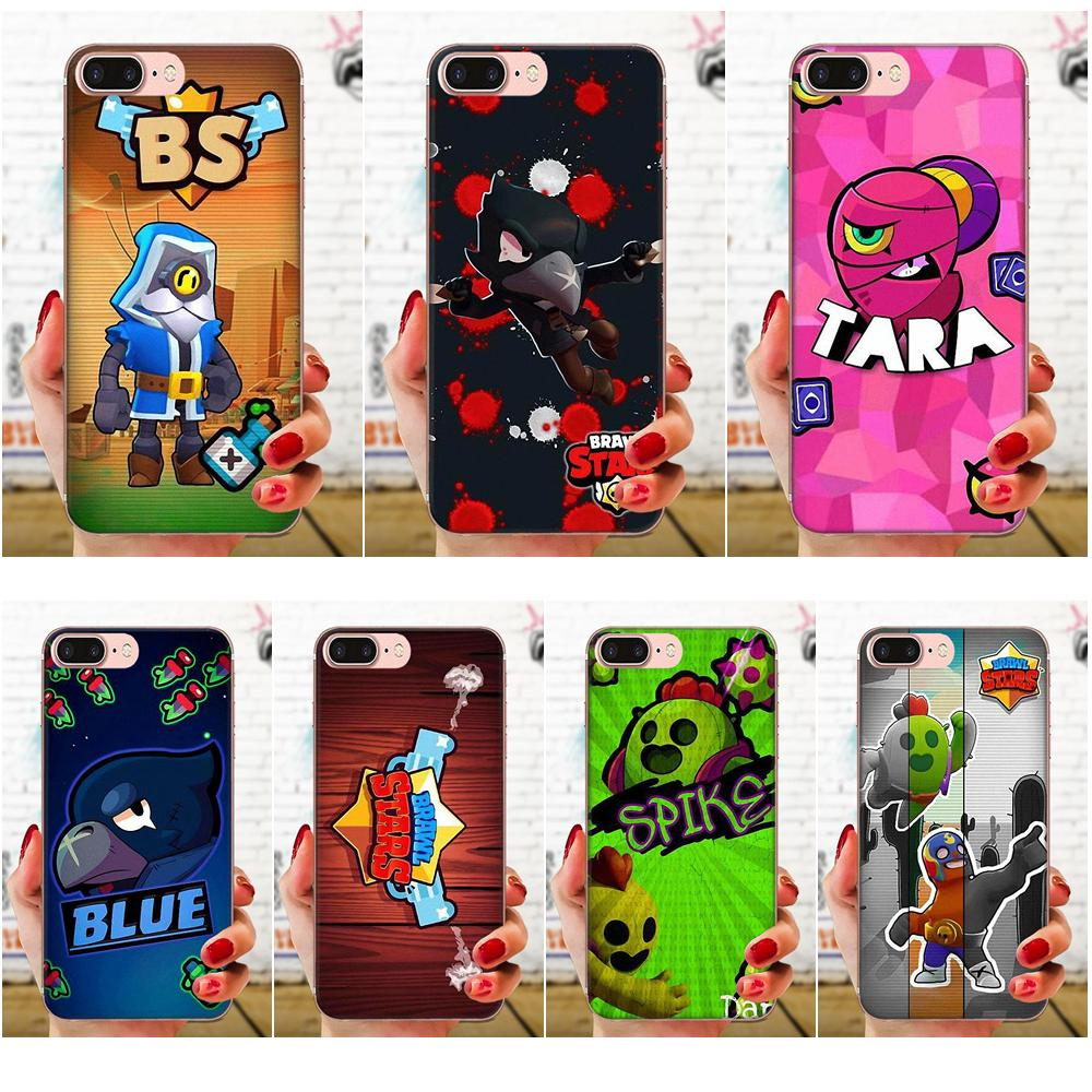 Soft TPU <font><b>Cases</b></font> Cover Gbrawl Stars For <font><b>Huawei</b></font> <font><b>Honor</b></font> 4C 5A 5C 5X 6 6A 6X 7 7A 7C <font><b>7X</b></font> 8 8C 8S 9 10 10i 20 20i Lite Pro image