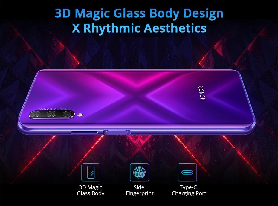 Honor 9X Pro 8GB 128GB 256GB Kirin 810 Liquid Cool Smartphone 48MP Triple Camera 6.59 Auto Pop Up Camera cellphone (14)