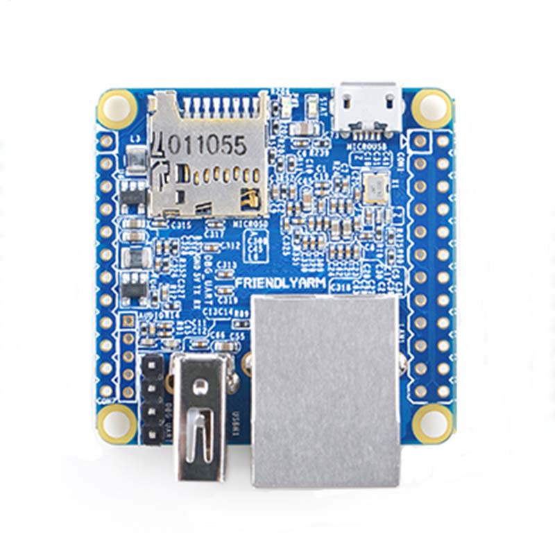 Allwinner H3 Open Source 512M DDR3 RAM Quad-core Development Board NanoPi NEO Cortex-A7 Development Board 100M Ethernet Diy