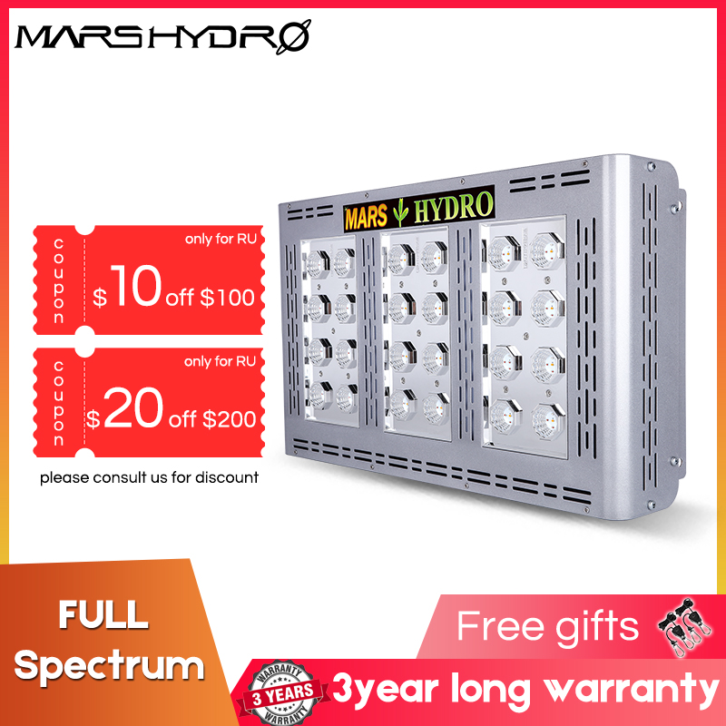 Mars Hydro Led Grow Light Full Spectrum For Pro II 600W Indoor Plants Greenhouse Garden Hydroponic System Plant Growing Light
