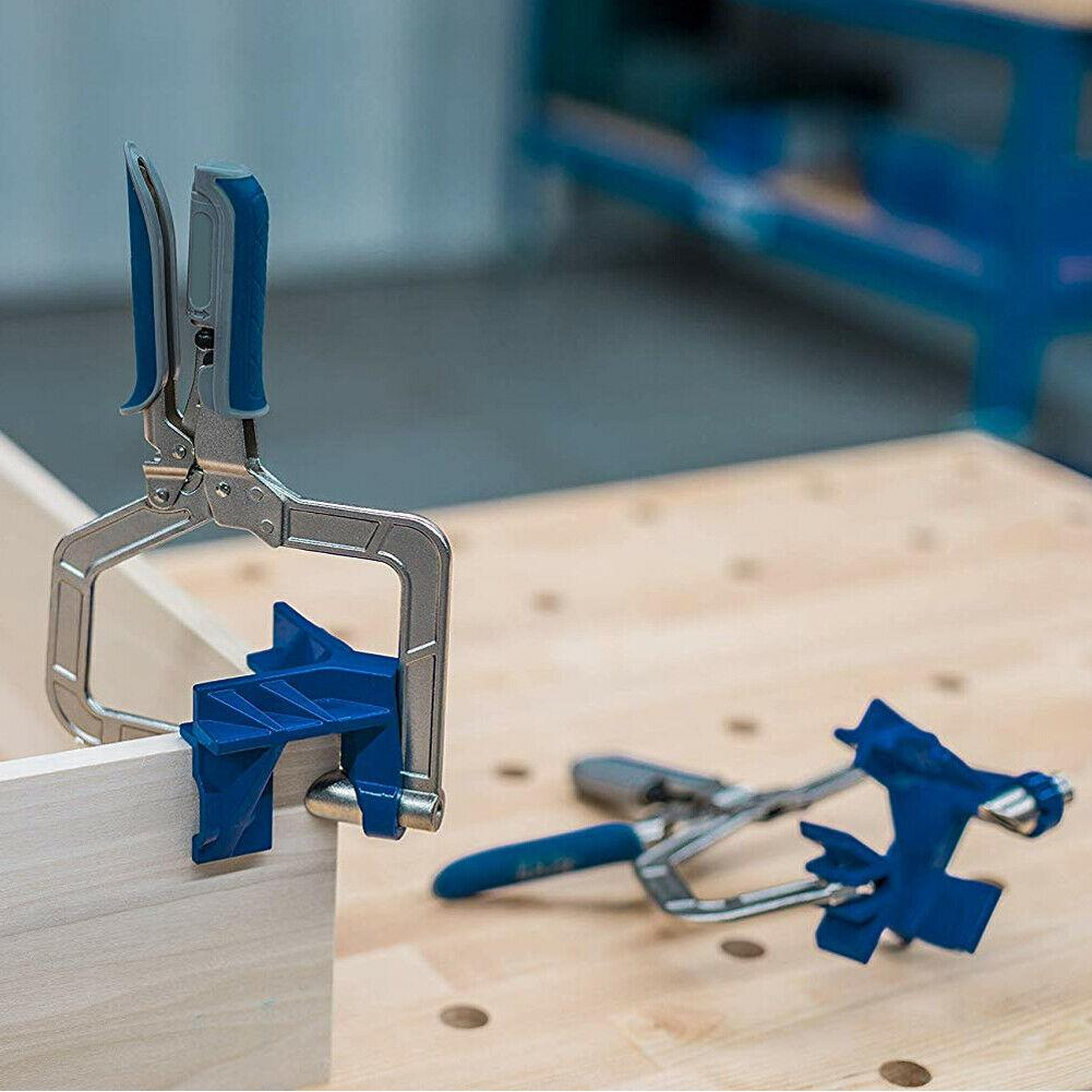 1Pc 90 Degree Right Angle Woodworking Clamp Picture Frame Corner Clip Hand Tool Clamps For Woodworking