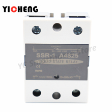 цена на high quality DC control AC Voltage relay Single-phase solid state relay SSR-DA relay control voltage radiator 480V