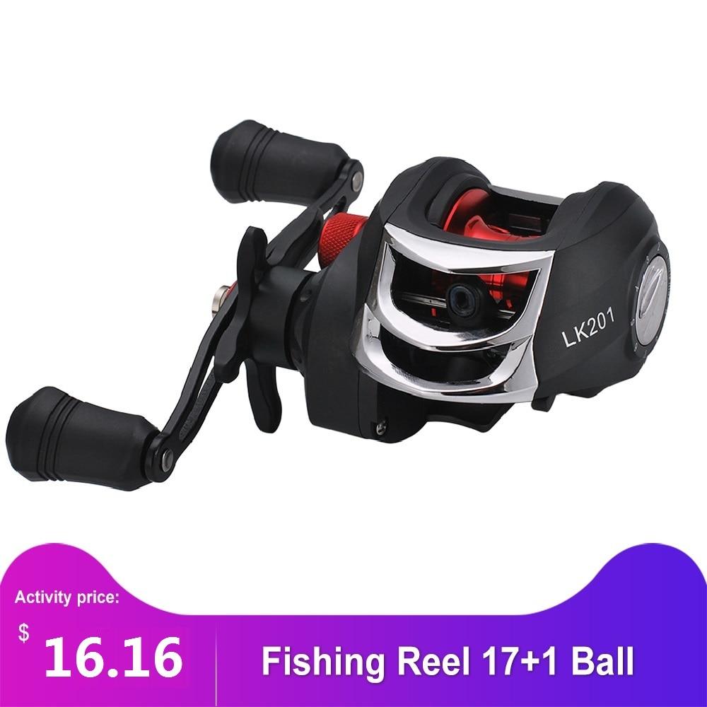 Lizard 19+1BB Ball Bearing 8.1:1 Baitcasting Fishing Reel with Brake System
