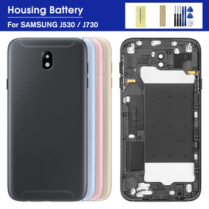 Battery Back Cover For Samsung Galaxy J5 Pro 2017 J530 J530F SM-J530F J7 Pro J730 J730F Rear Door Housing Case Replacement Parts