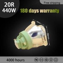 교체 전구 440W 20R 오스람 P VIP 440/1.3 E21.9 프로젝터 램프 이동식 헤드 MSD 빔 플래티넘 20R 램프