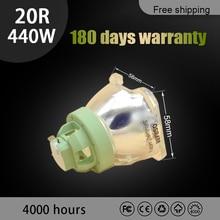Bombilla de repuesto 440W 20R para OSRAM P VIP 440/1.3 e21,9 lámpara de proyector con cabezal móvil MSD Beam platinum 20R