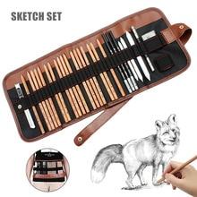 29pcs Pencil Set Sketching Drawing Art Tool Graphite Pencils Supplies LHB99